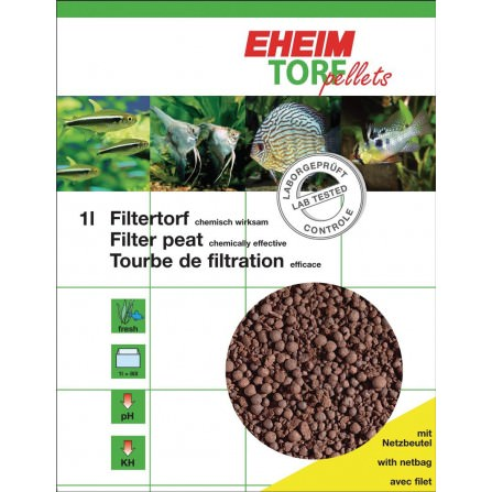 Eheim Torf pellets con red 1 litro