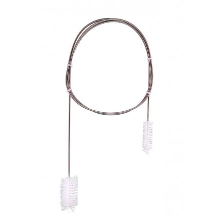 Cepillo largo flexible inoxidable - 150 cm