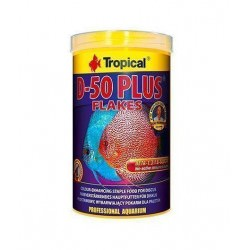 Alimento en escamas D-50 Plus Flakes - 250 ml