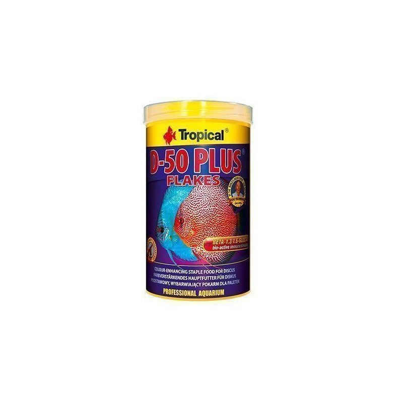 D-50 Plus Flakes: bote de 250 ml