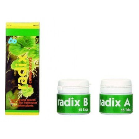 Aquamedic Radix tabletas fertilizantes 2x 15