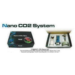 Set CO2 Nanode Blau Aquaristic
