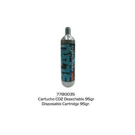 Cartucho CO2 desechable de 95 grs